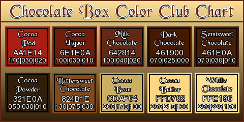 [Chocolate Box Colours]